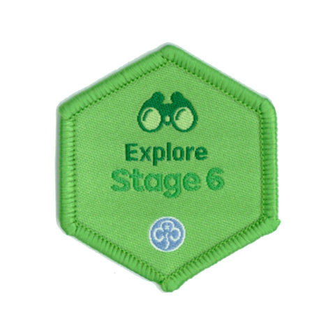 Skills Builder - Have Adventures - Explore Stage 6 Woven Badge