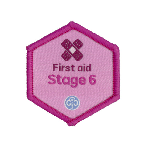 Skills Builder - Be Well - First Aid Stage 6 Woven Badge