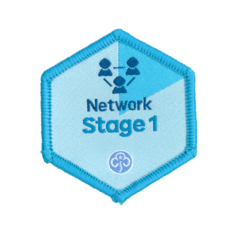 Skills Builder - Know Myself - Network Stage 1 Woven Badge