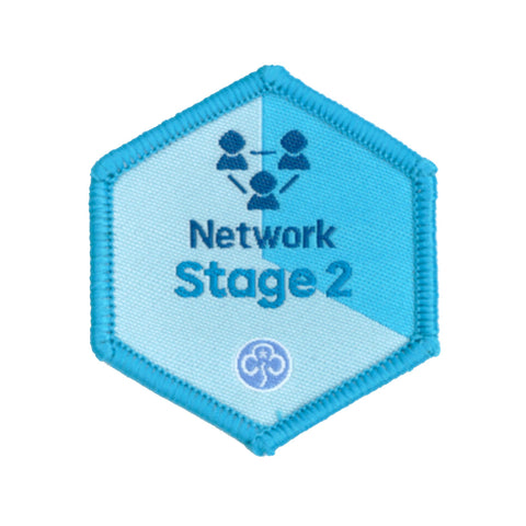 Skills Builder - Know Myself - Network Stage 2 Woven Badge