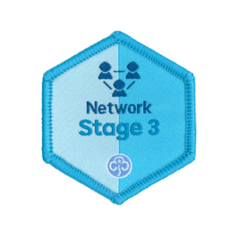 Skills Builder - Know Myself - Network Stage 3 Woven Badge