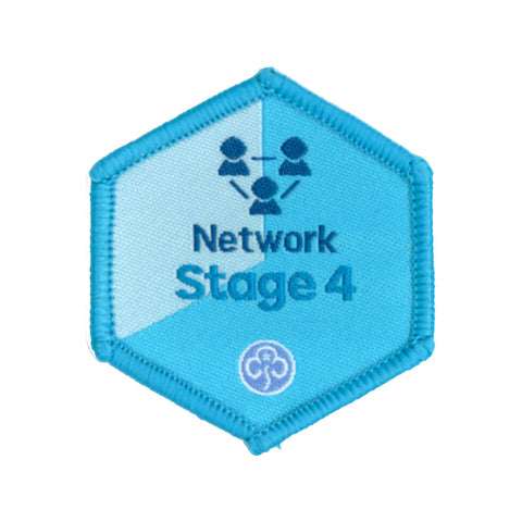 Skills Builder - Know Myself - Network Stage 4 Woven Badge