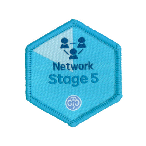 Skills Builder - Know Myself - Network Stage 5 Woven Badge
