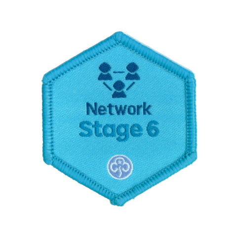 Skills Builder - Know Myself - Network Stage 6 Woven Badge