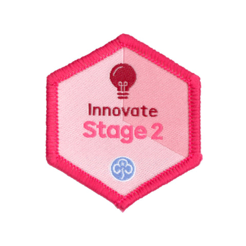 Skills Builder -  Express Myself - Innovate Stage 2 Woven Badge