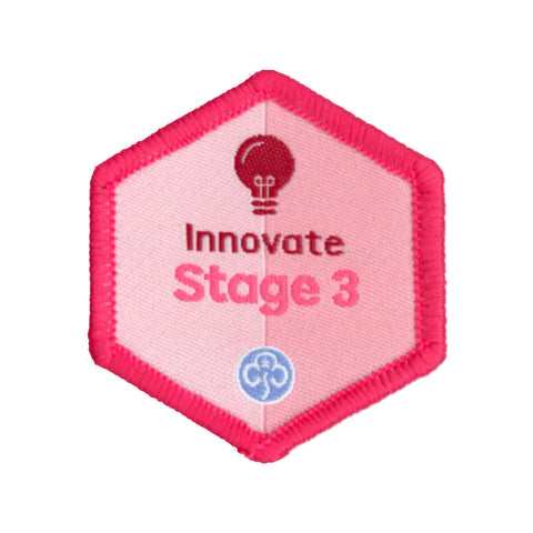 Skills Builder -  Express Myself - Innovate Stage 3 Woven Badge