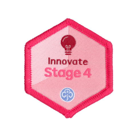 Skills Builder -  Express Myself - Innovate Stage 4 Woven Badge
