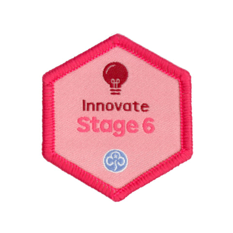 Skills Builder -  Express Myself - Innovate Stage 6 Woven Badge