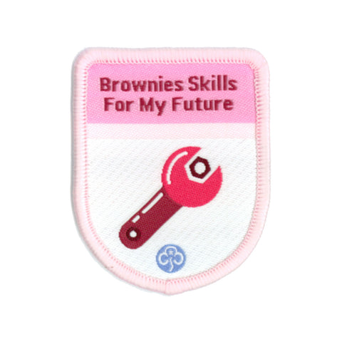 Brownies Skills For My Fututre Theme Award Woven Badge