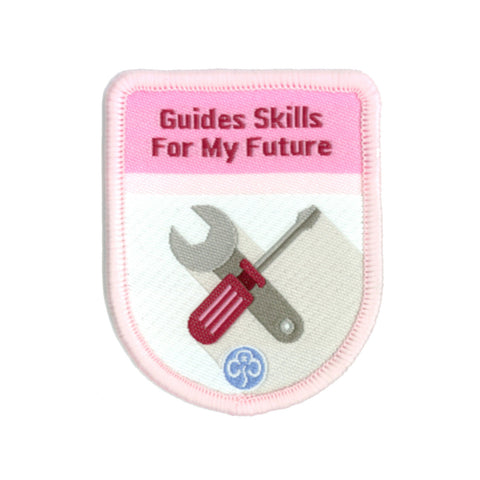 Guides Skills For My Fututre Theme Award Woven Badge