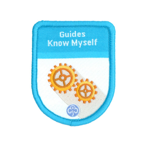 Guides Know Myself Theme Award Woven Badge