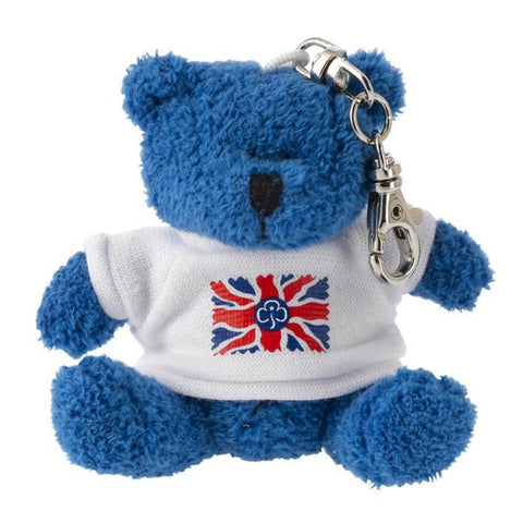 Union Flag Teddy Clip