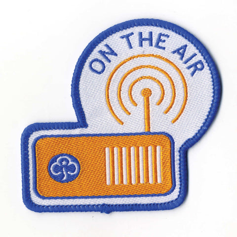 World Thinking Day On the Air Woven Badge
