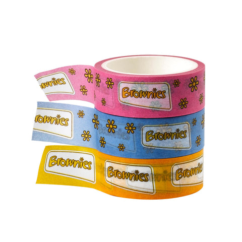 Brownie Washi Tape