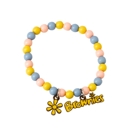Brownie Bead Bracelet