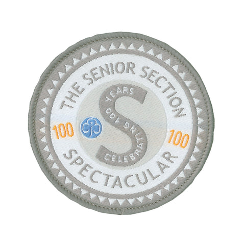 The Senior Section Spectacular Woven Badge