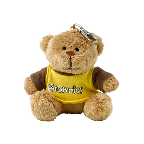 Brownie Teddy Clip