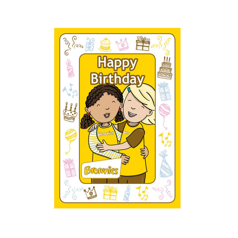 Brownie Character Birthday Cards