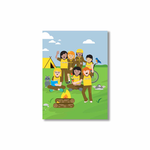 Brownies Adventure Cards (6pk)
