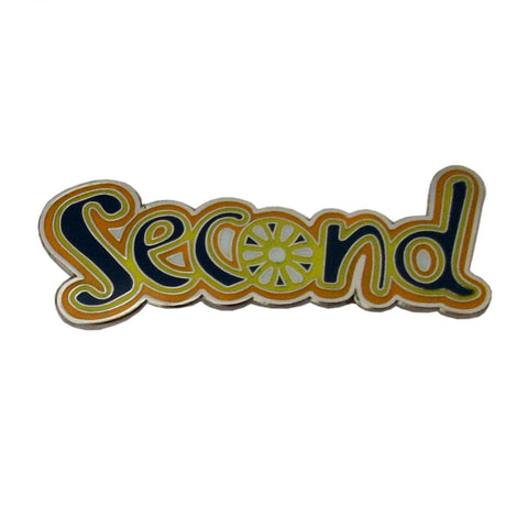 Brownie Second Metal Badge