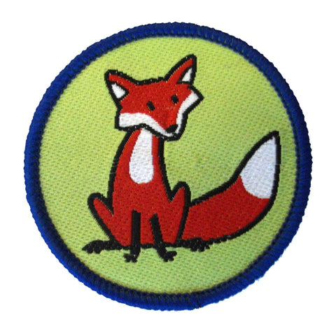 Fox Brownie Six Woven Emblem
