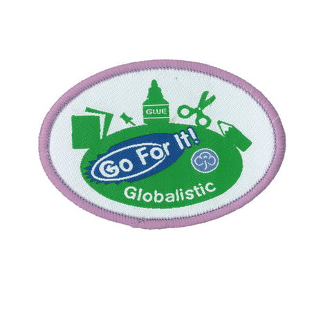 Go For It! Globalistic Woven Badge
