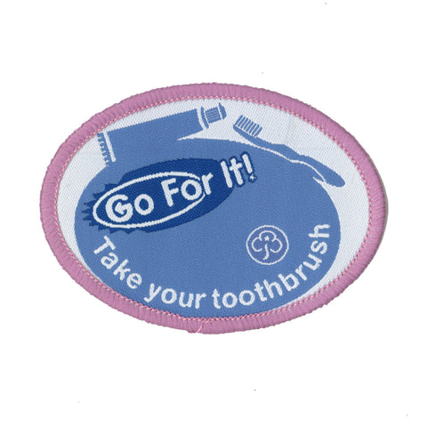 Go For It! Take Your Toothbrush
