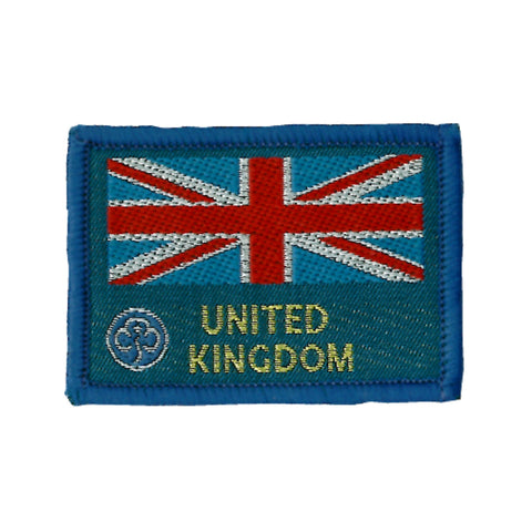 Union Flag Woven Badge
