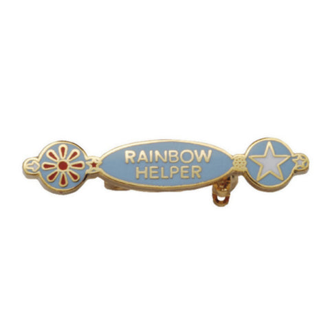 Rainbow Helper Metal Badge