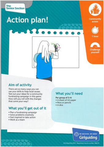 Rangers - Unit Meeting Activity Pack 1 - Action Plan!