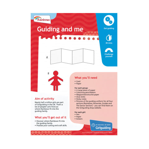 Rainbows - Unit Meeting Activity Pack 4 - Guiding and me