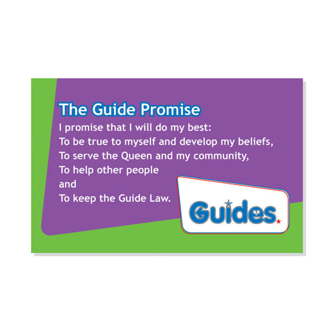 Guide Promise and Law Card