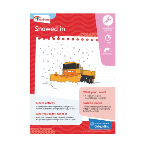 Rainbows - Unit Meeting Activity Pack 6 - Snowed In
