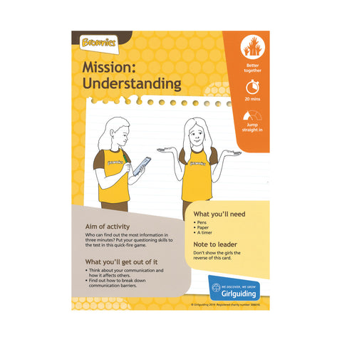 Brownies - Unit Meeting Activity Pack 6 - Mission Understanding