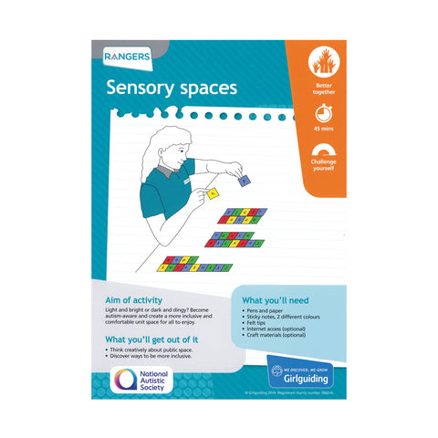 Rangers - Unit Meeting Activity Pack 6 - Sensory Spaces