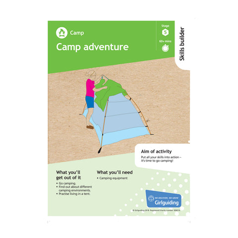 Skills Builder - Have Adventures - Camp Stage 5 Pack