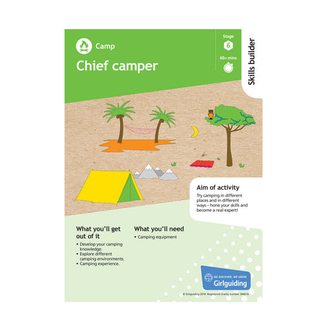 Skills Builder - Have Adventures - Camp Stage 6 Pack
