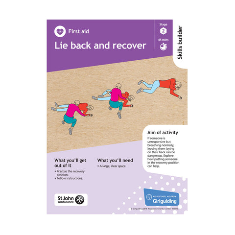 Skills Builder - Be Well - First Aid Stage 2 Pack