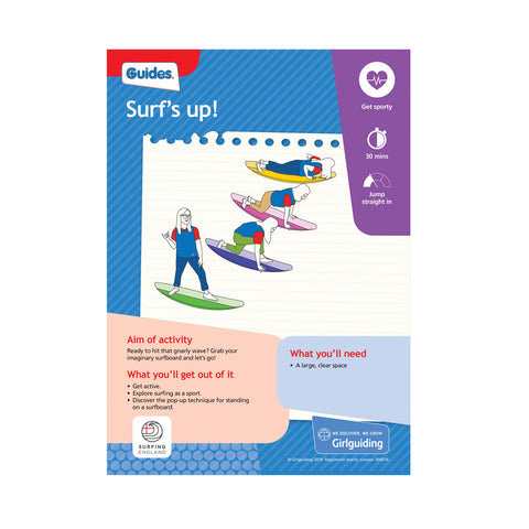 Guides - Unit Meeting Activity Pack 7 - Animal Advantages/Surf's Up