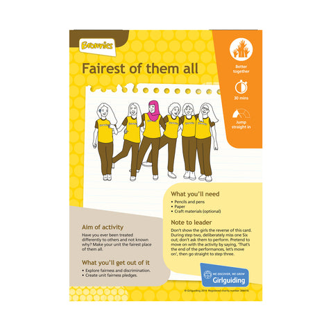 Brownies - Unit Meeting Activity Pack 8 - Fairest of Them All