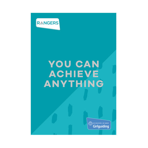 You Can Achieve Anything - Rangers Handbook