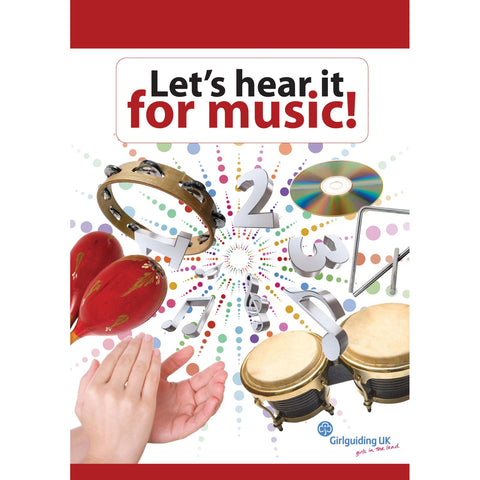 Let's Hear It For Music Book