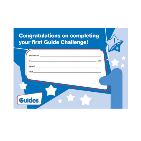 Guide Challenge 1  Certificate