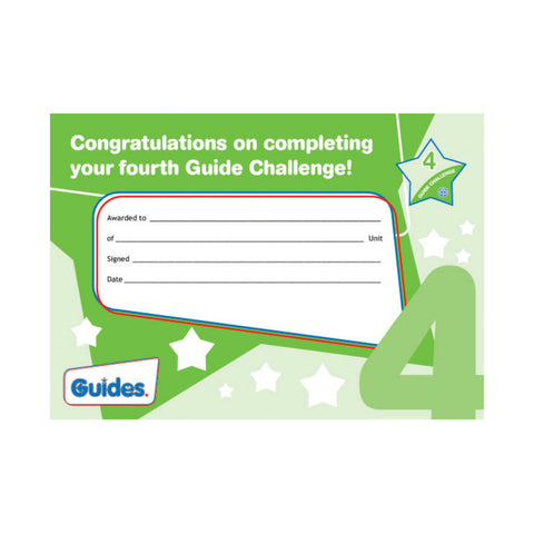 Guide Challenge 4  Certificate
