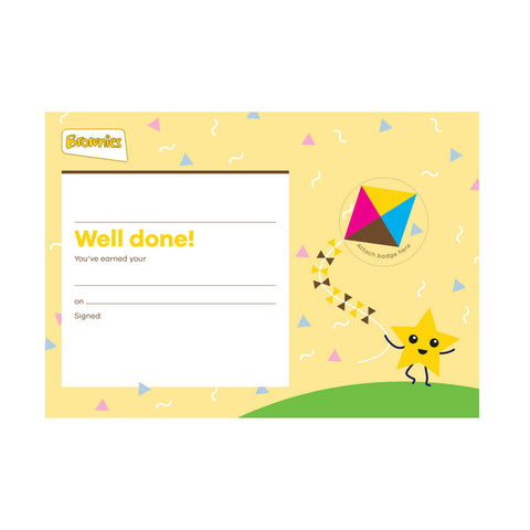 Brownies Badge Celebration Certificate