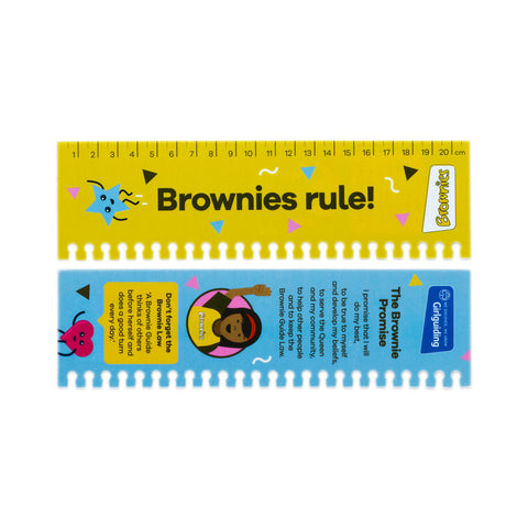 Brownies Page Marker Ruler
