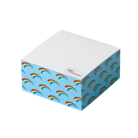 Rainbows Cube Notepad