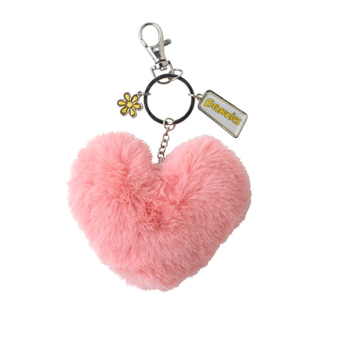 Brownies Heart Pom Pom Clip