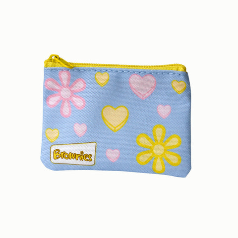 Brownies Flowers and Hearts Purse