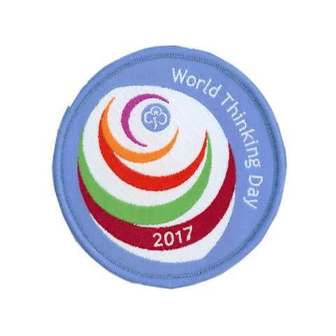 World Thinking Day 2017 Woven Badge